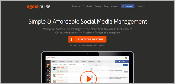 Social Media Management - Agora Pulse