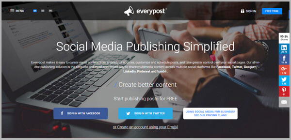 Social Media Management - EveryPost