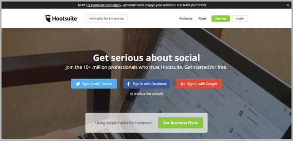 Social Media Management - HootSuite