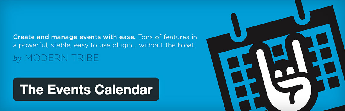 WordPress Plugins - Events Calendar