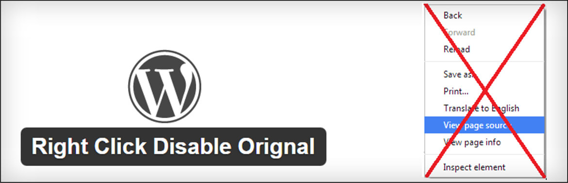 Security Plugins - Right Click Disable Orignal By Yash Fale