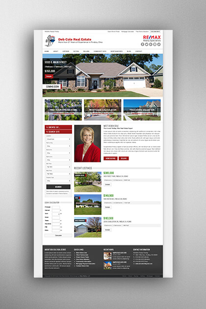Atlas Media Portfolio - Deb Cole Real Estate