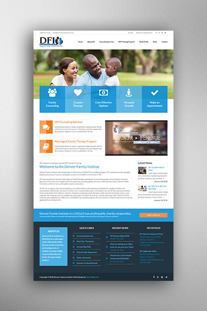 Atlas Media Portfolio - Denver Family Institute