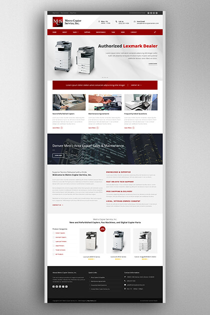 Atlas Media Portfolio - Metro Copier Service, Inc