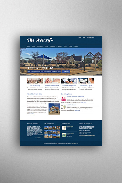 Atlas Media Portfolio - The Aviary HOA